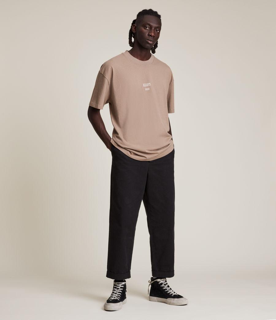 Men's Dixon Crew T-Shirt (smoked_brown) - Image 3