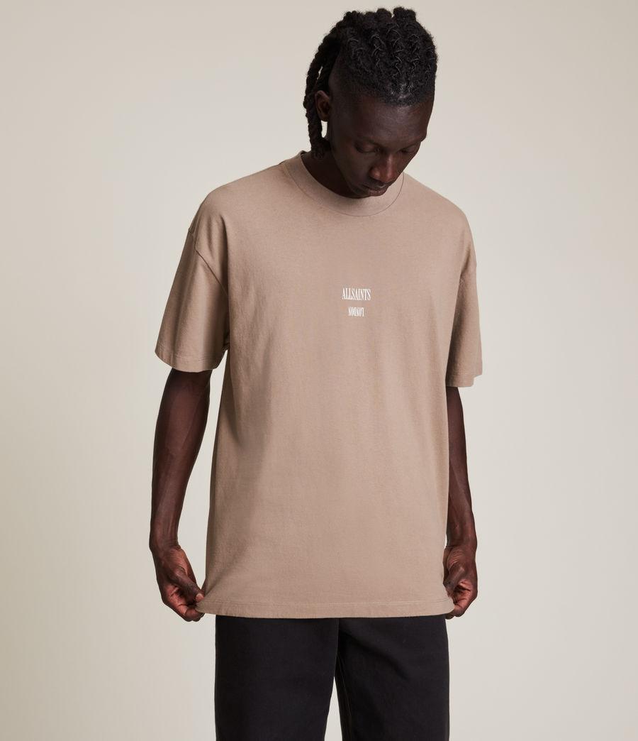 Men's Dixon Crew T-Shirt (smoked_brown) - Image 4