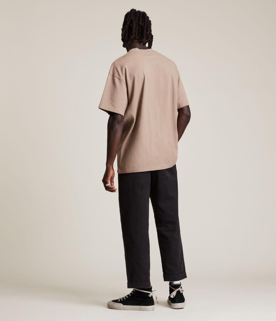 Men's Dixon Crew T-Shirt (smoked_brown) - Image 5