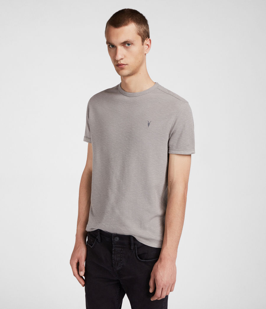 Men's Clash Crew T-Shirt (putty_brown) - Image 3