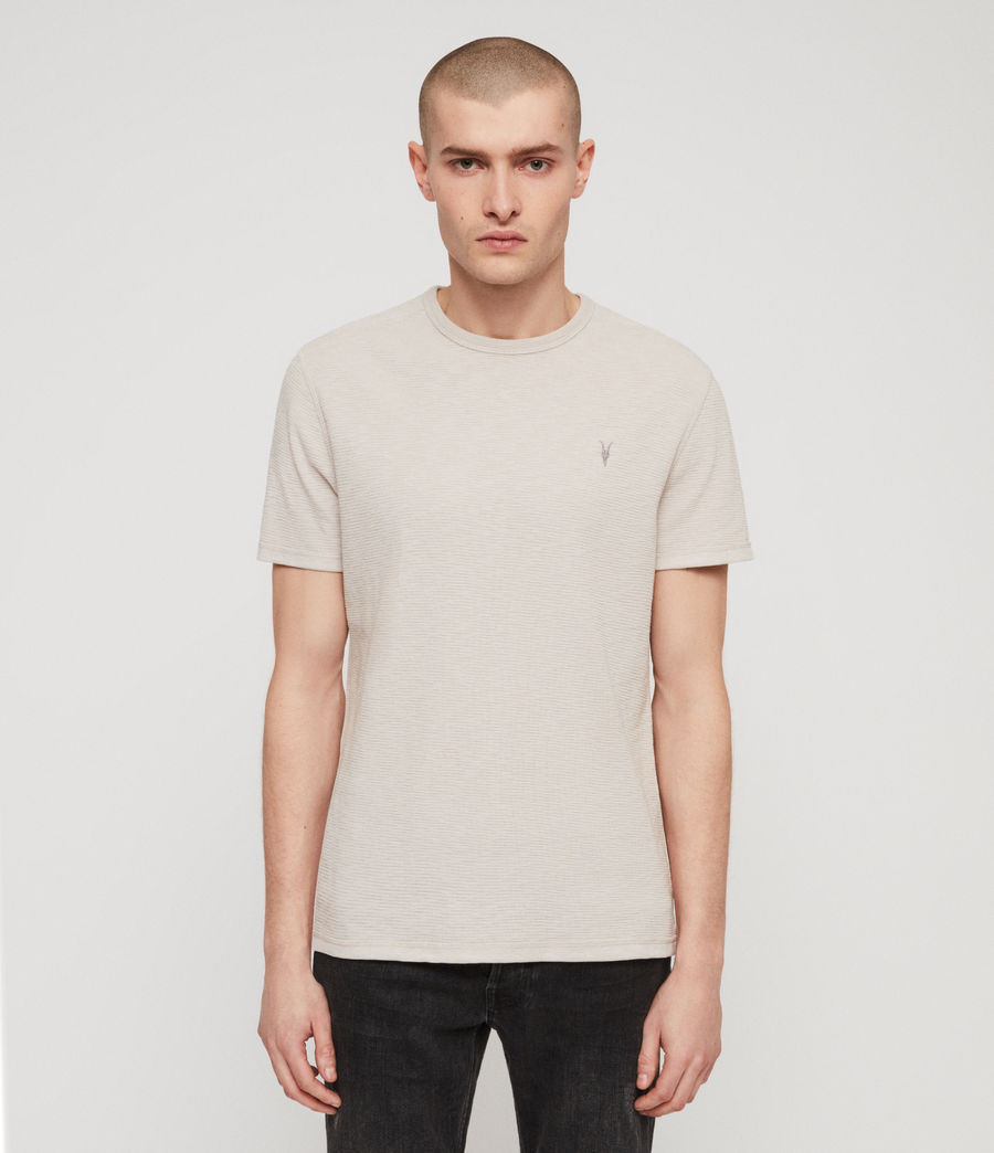 Hombres Camiseta Clash (lunar_grey) - Image 1