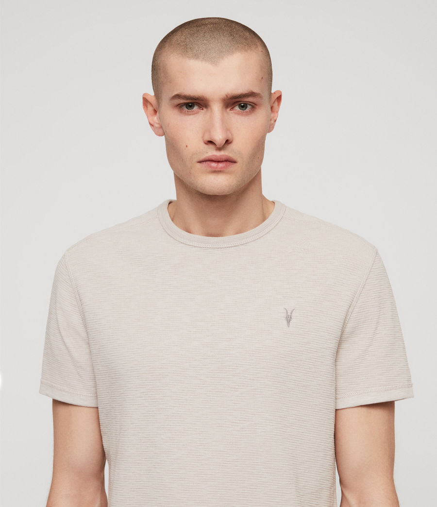Hombres Camiseta Clash (lunar_grey) - Image 2