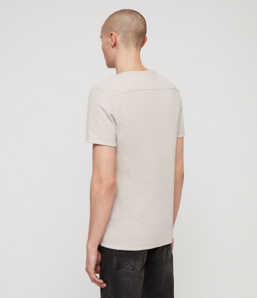 Uomo T-shirt Clash (lunar_grey) - Image 4