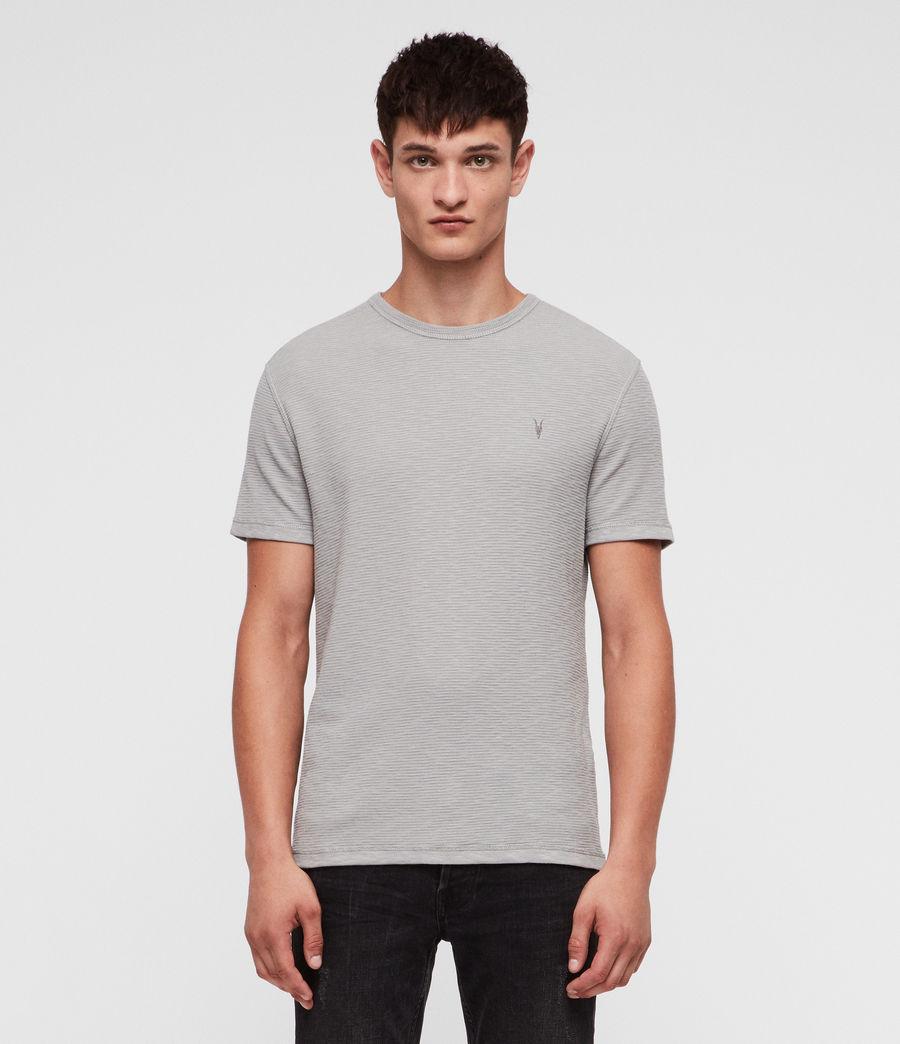 Herren Clash Crew T-Shirt (tin_grey) - Image 1