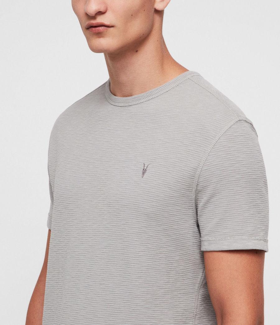 Mens Clash Crew T-Shirt (tin_grey) - Image 2