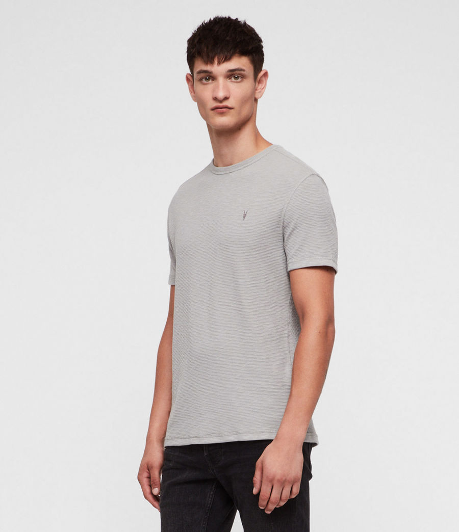 Herren Clash Crew T-Shirt (tin_grey) - Image 3