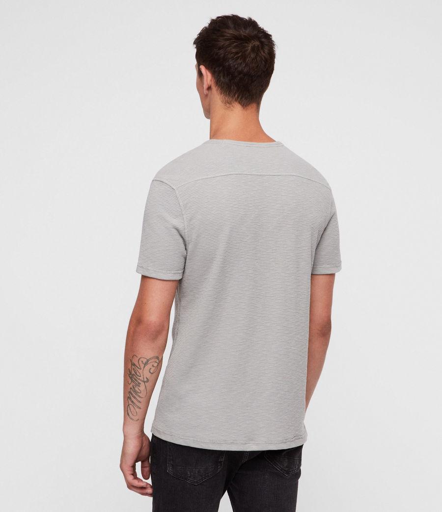 Herren Clash Crew T-Shirt (tin_grey) - Image 4