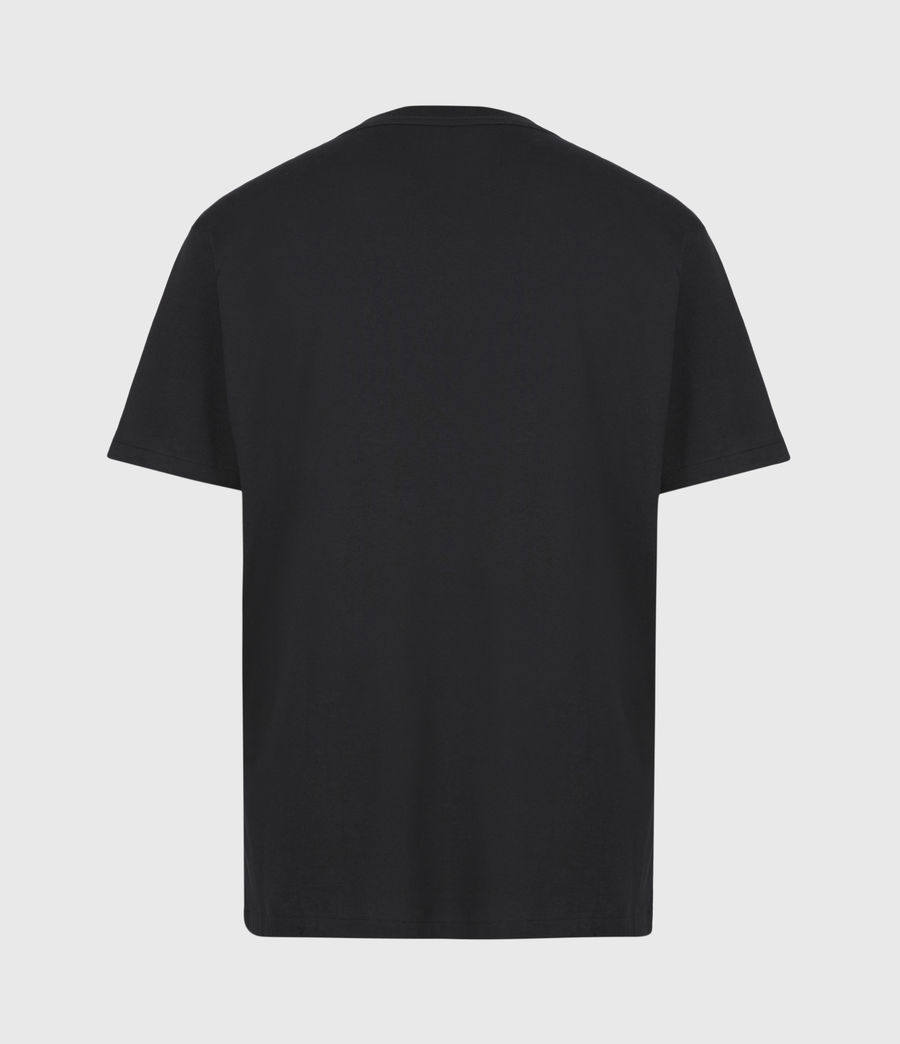 Men's State Crew T-Shirt (jet_black) - Image 3