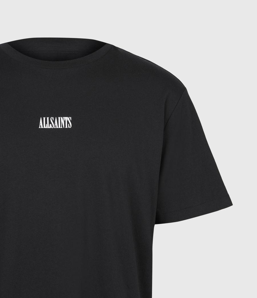 Hommes T-Shirt à Manches Courtes State (jet_black) - Image 5
