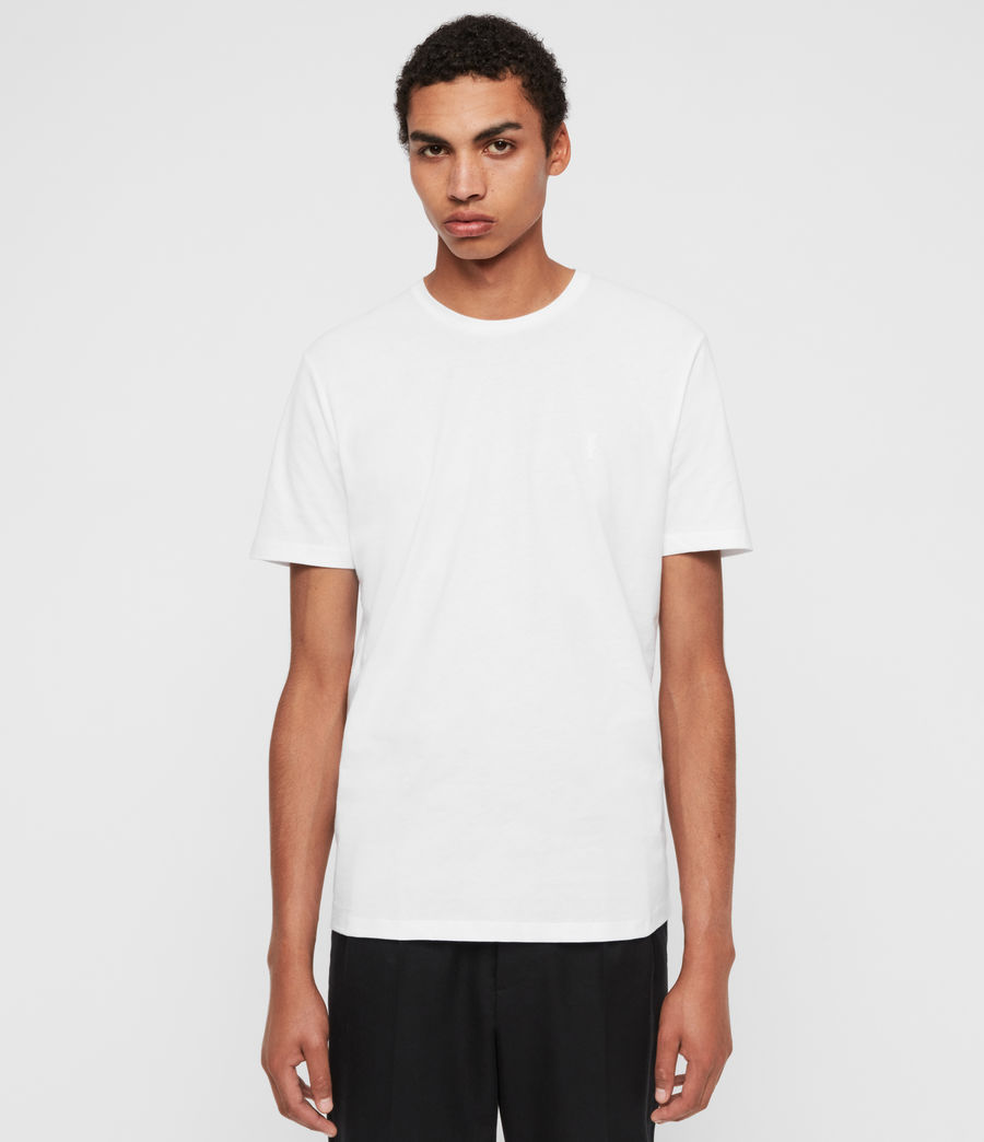 Mens Brace Ss Crew (optic_white) - Image 1