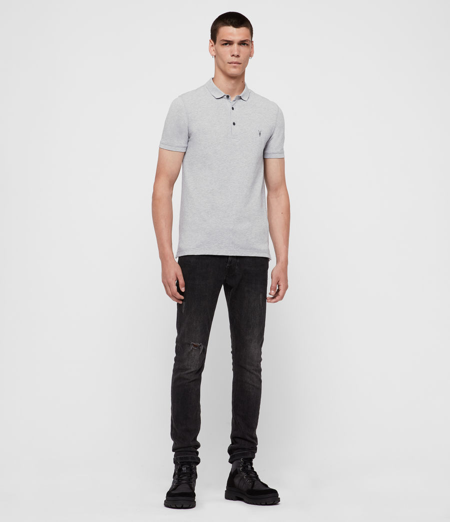 Uomo Polo Reform (grey_marl) - Image 3