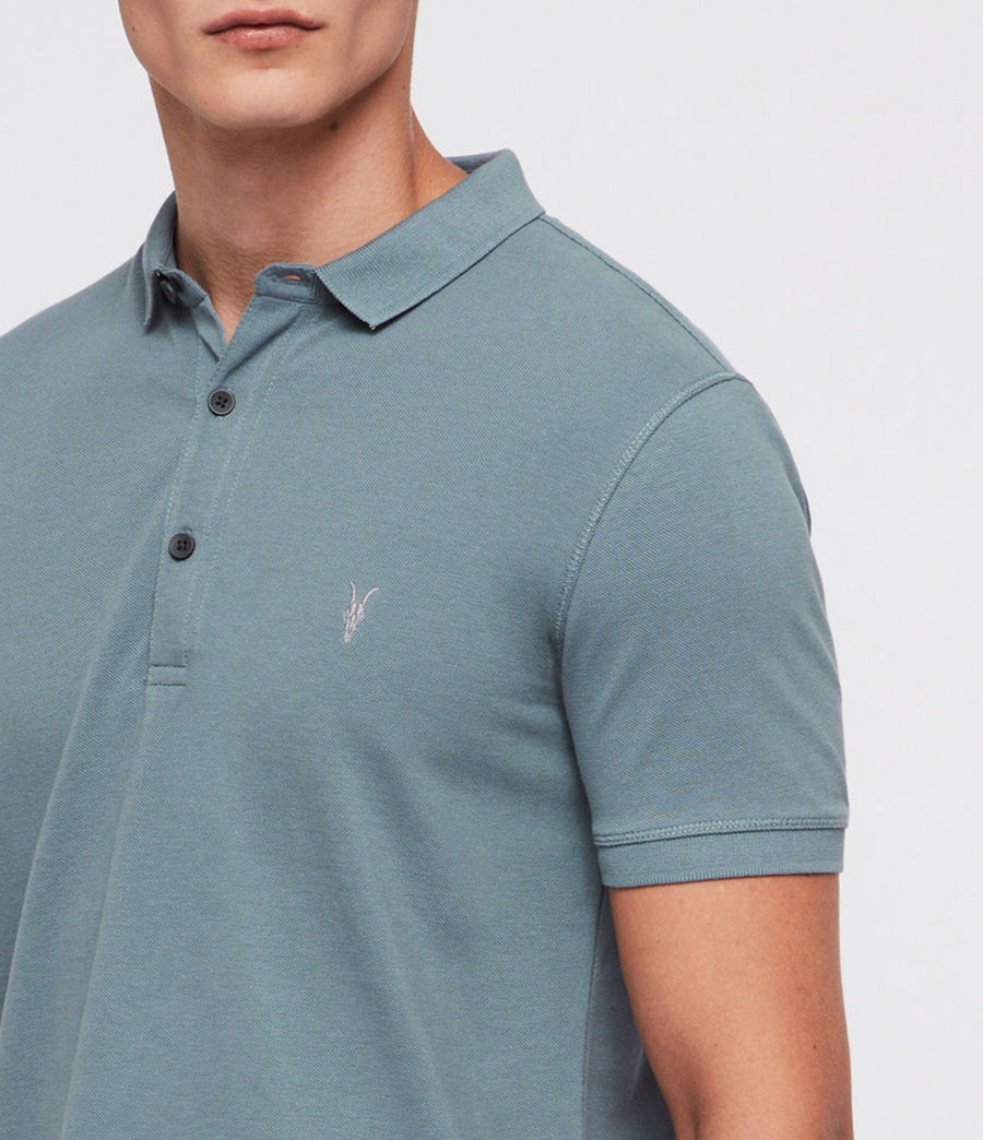Mens Reform Polo Shirt (chambray_blue) - Image 2