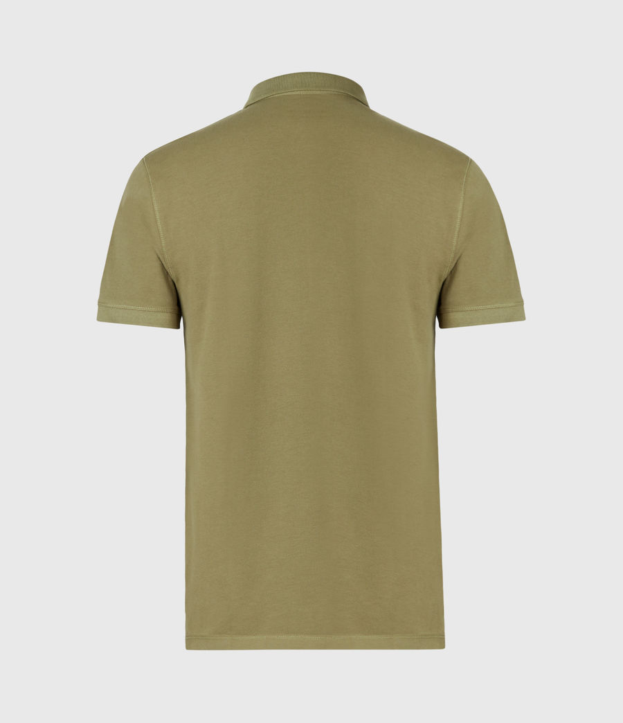 Mens Reform Short Sleeve Polo Shirt (forest_green) - Image 3