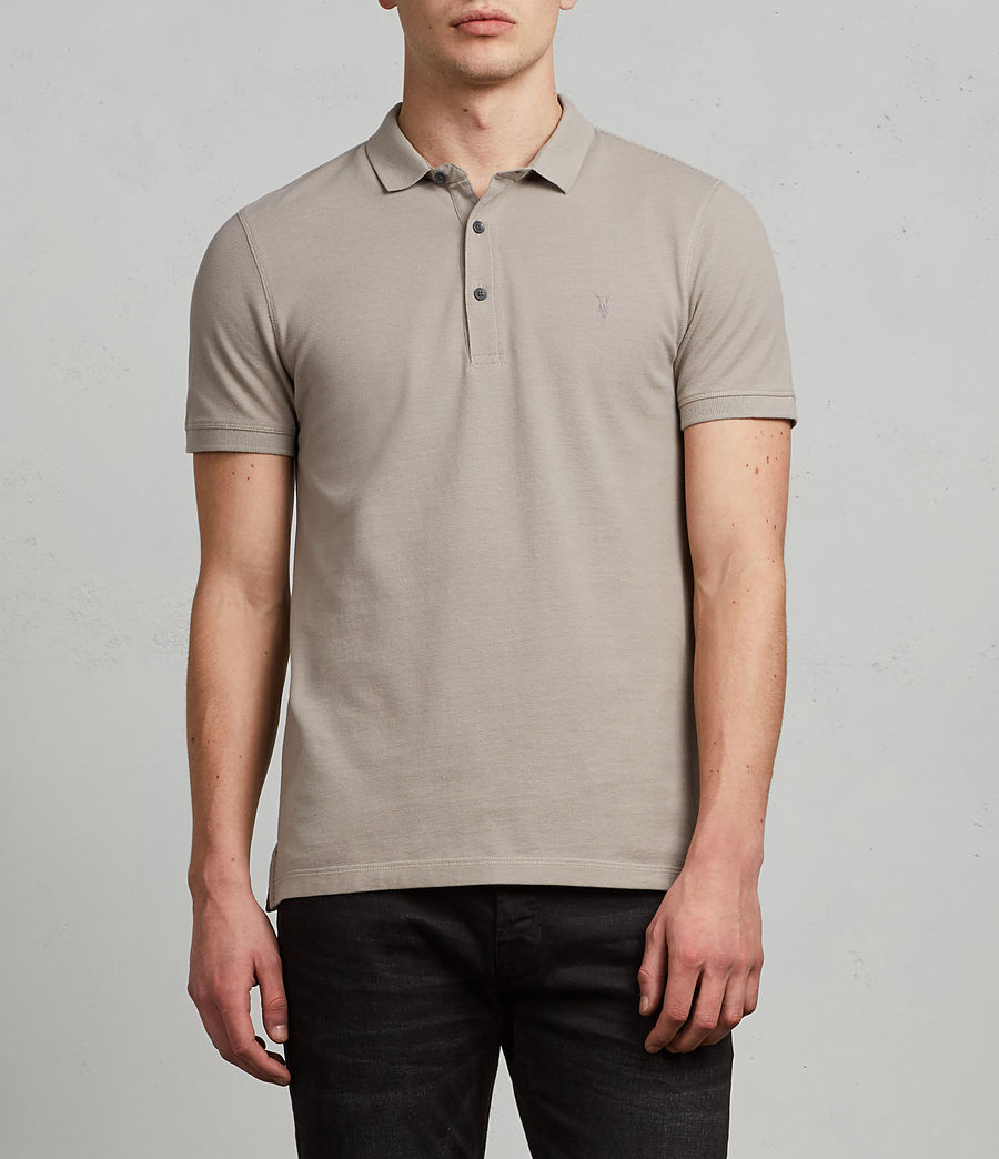 Men's Reform Polo Shirt (cement) - Image 1