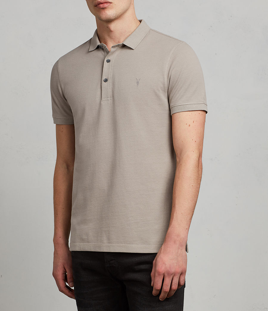 Men's Reform Polo Shirt (cement) - Image 3
