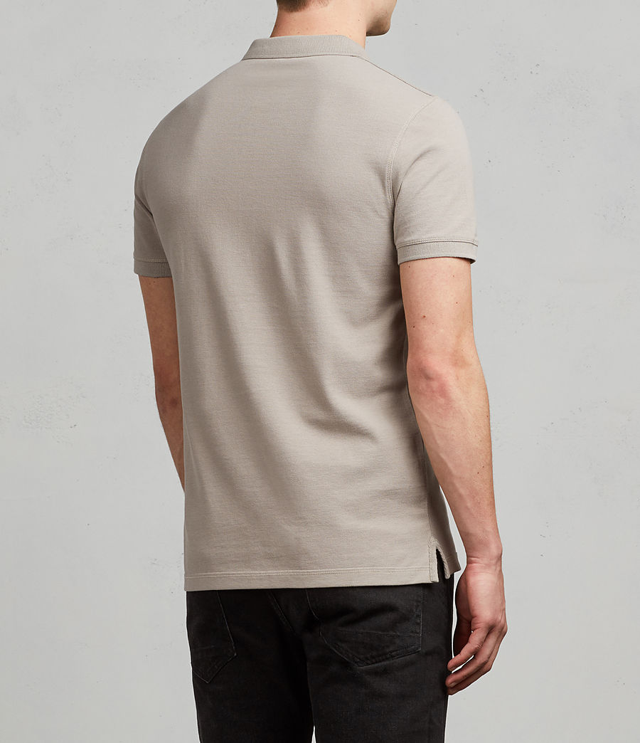 Men's Reform Polo Shirt (cement) - Image 4