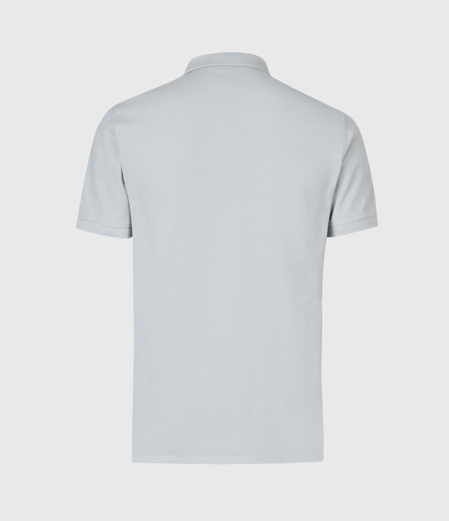 Hommes Reform Short Sleeve Polo Shirt (powder_blue) - Image 3