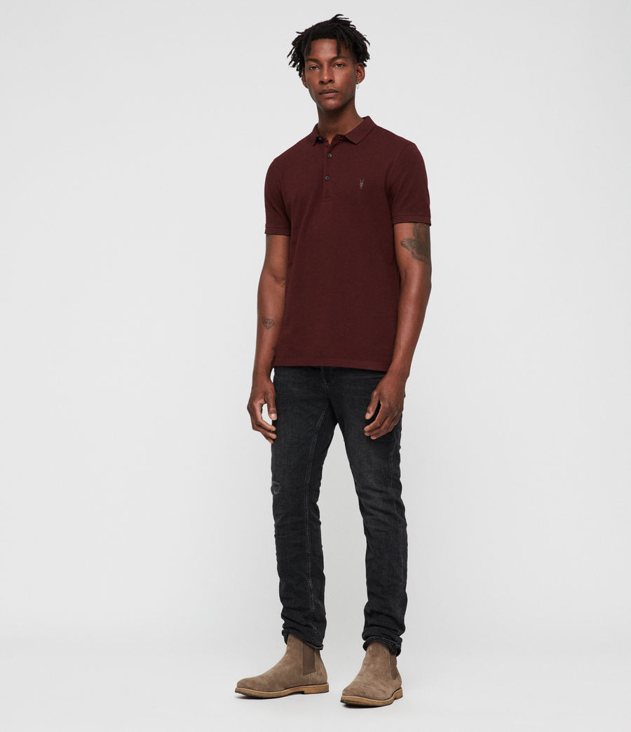 Men's Reform Polo (dark_rust) - Image 1
