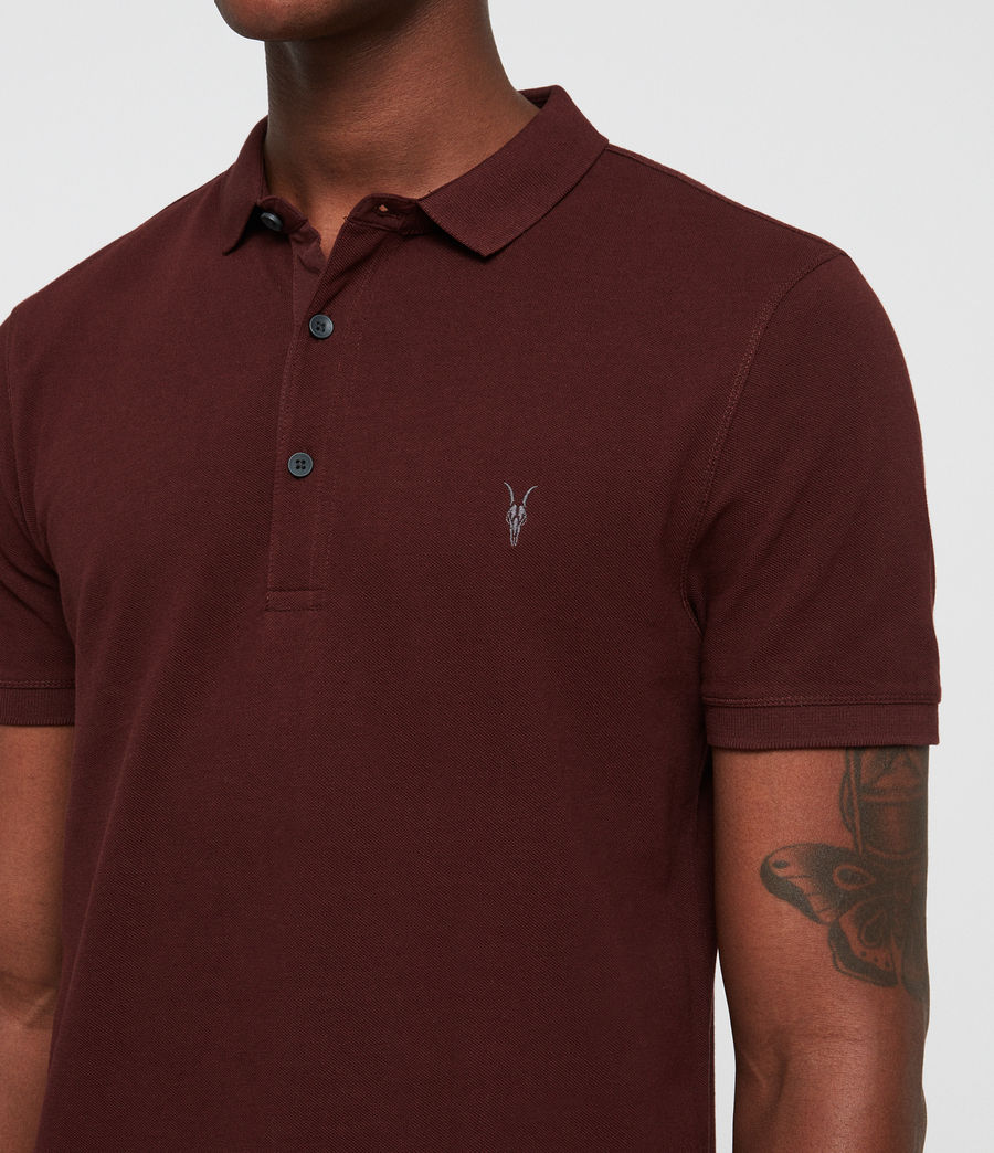 Men's Reform Polo (dark_rust) - Image 2