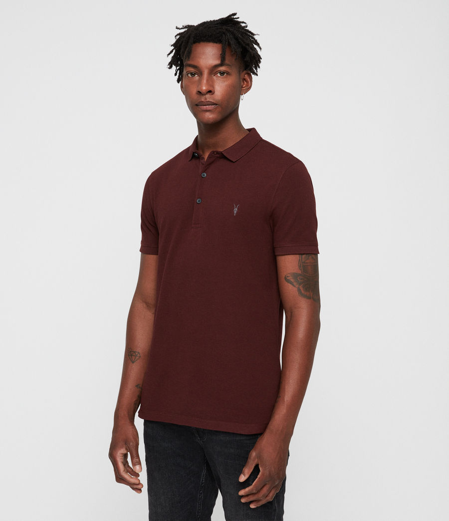 Men's Reform Polo (dark_rust) - Image 3