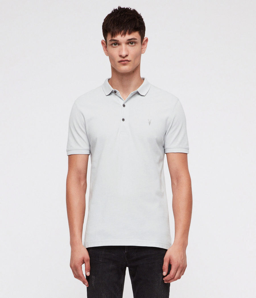 Hombres Reform Polo Shirt (cloud_blue) - Image 1