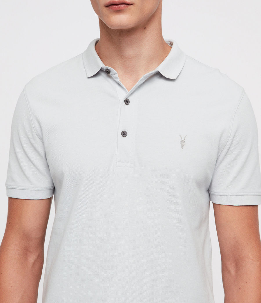 Hombres Reform Polo Shirt (cloud_blue) - Image 2