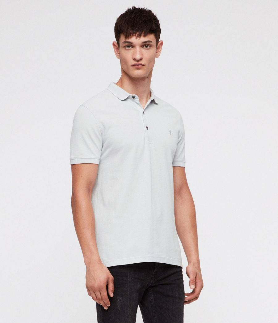Hombres Reform Polo Shirt (cloud_blue) - Image 3