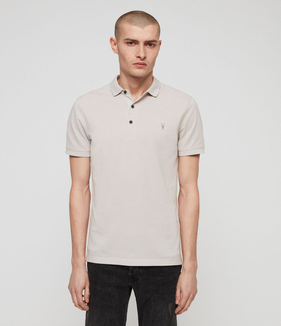 Men's Reform Polo Shirt (lunar_grey_marl) - Image 1