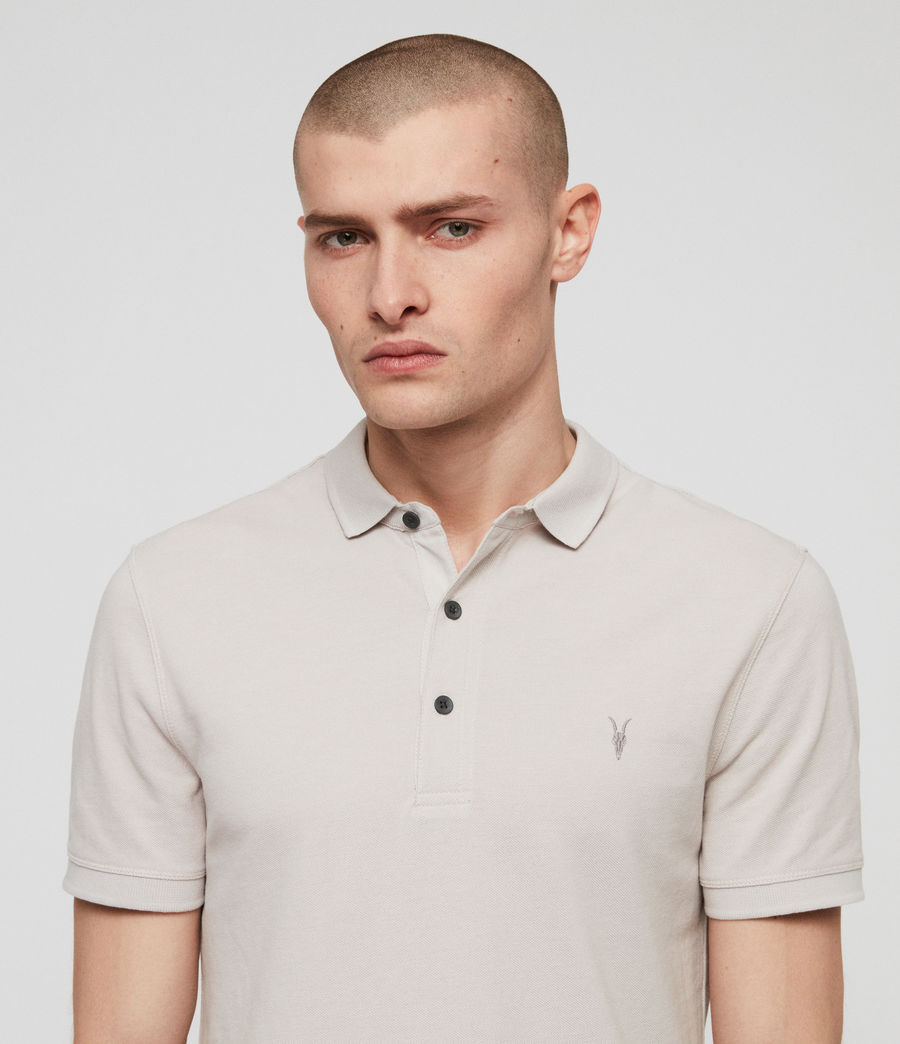 Men's Reform Polo Shirt (lunar_grey_marl) - Image 2
