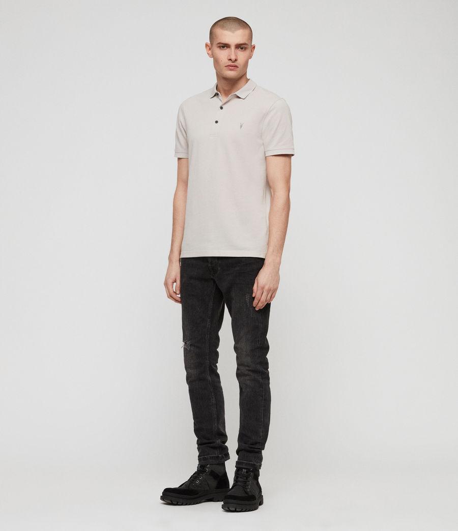 Men's Reform Polo Shirt (lunar_grey_marl) - Image 3
