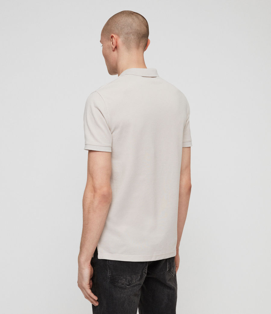 Men's Reform Polo Shirt (lunar_grey_marl) - Image 4