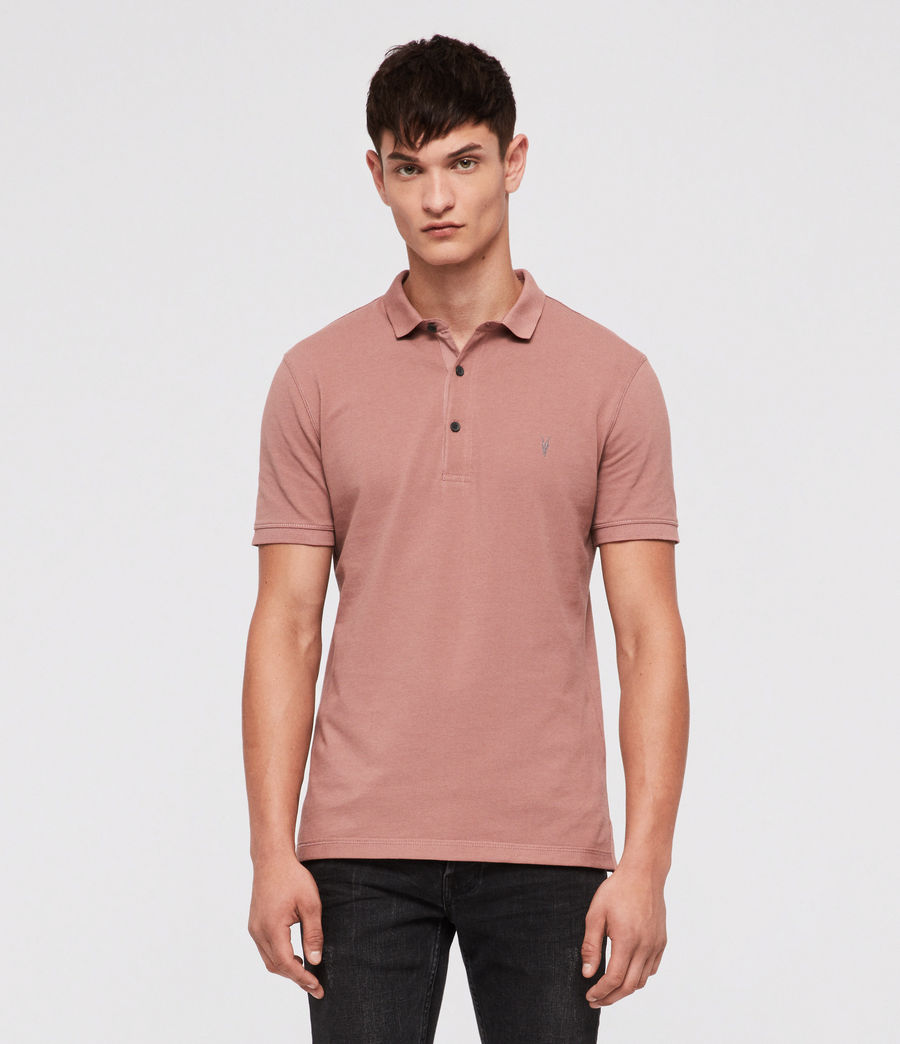 Uomo Reform Polo Shirt (clay_red) - Image 1