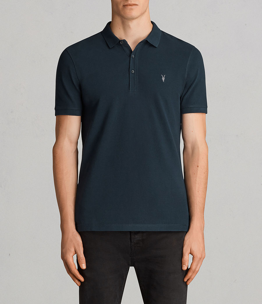 Men's Reform Polo Shirt (oil_blue) - Image 1