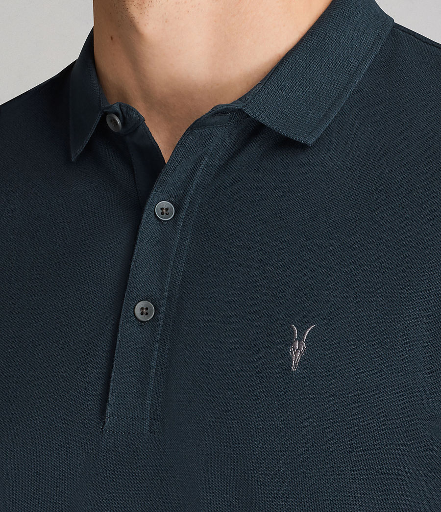 Men's Reform Polo Shirt (oil_blue) - Image 2