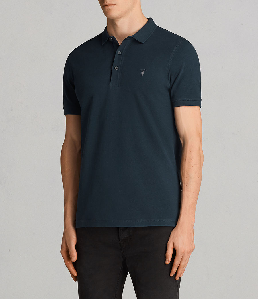 Men's Reform Polo Shirt (oil_blue) - Image 3