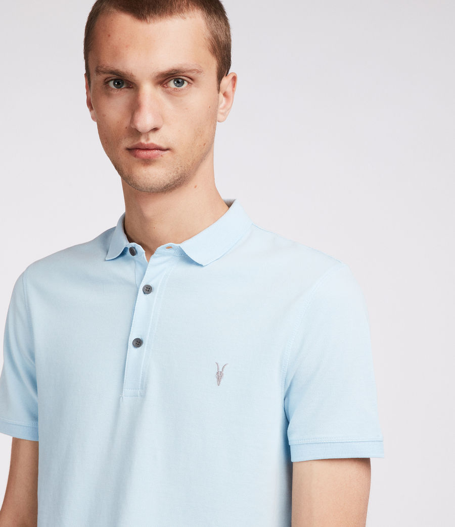 Mens Reform Polo Shirt (icing_blue) - Image 1