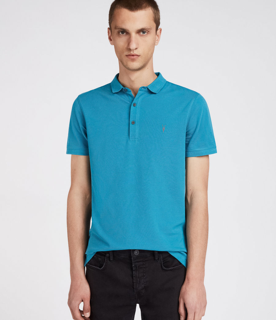 Men's Reform Polo Shirt (arch_blue) - Image 1