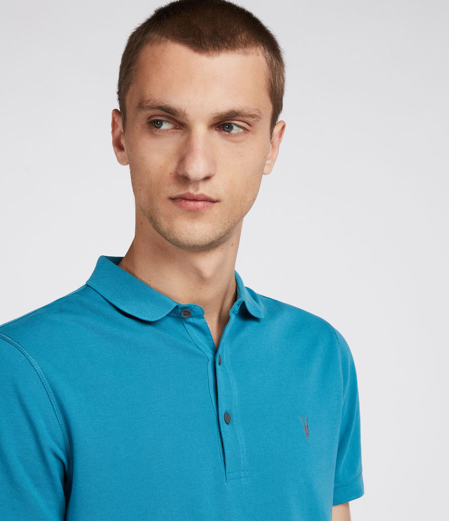 Men's Reform Polo Shirt (arch_blue) - Image 2
