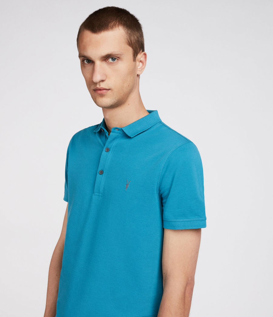 Men's Reform Polo Shirt (arch_blue) - Image 3