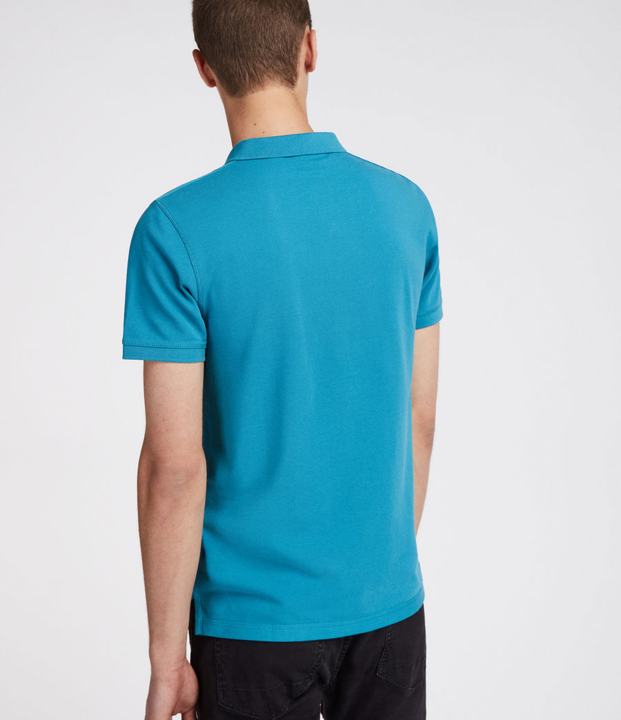 Men's Reform Polo Shirt (arch_blue) - Image 4