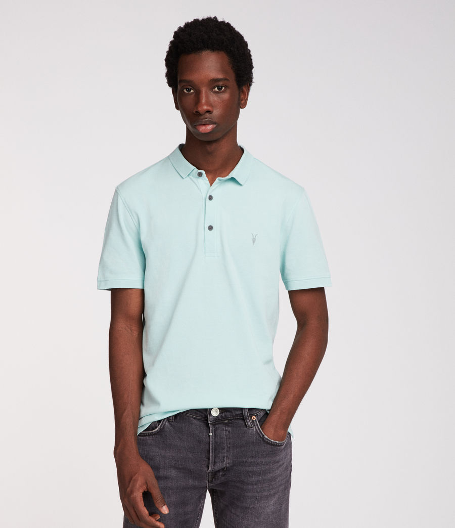 Hommes Polo Reform (isle_green) - Image 3