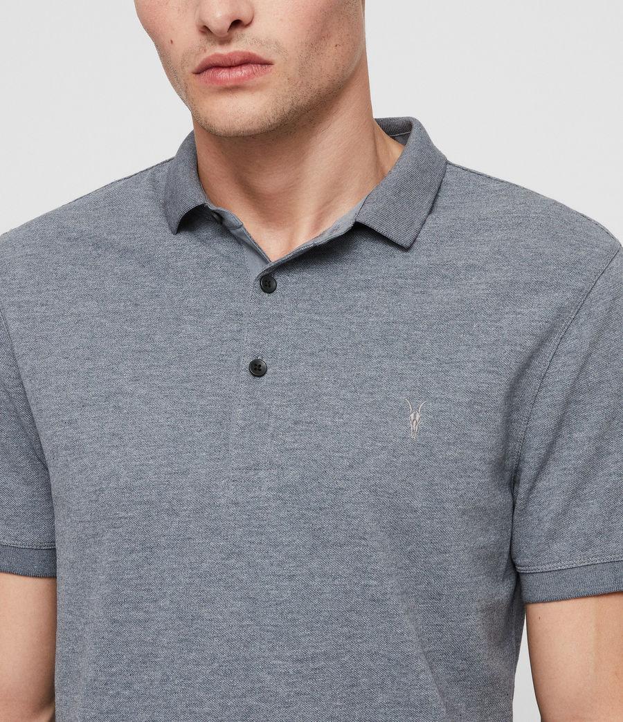 Mens Reform Polo Shirt (arctic_blue_marl) - Image 2