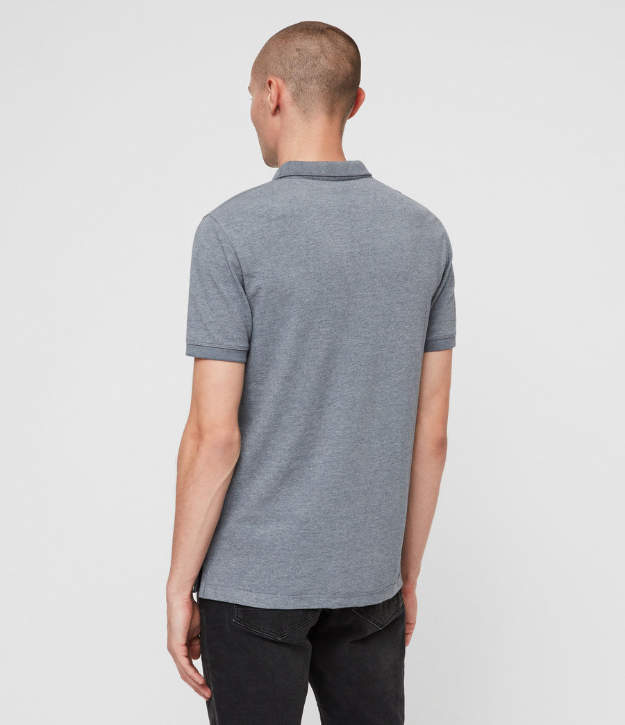 Mens Reform Polo Shirt (arctic_blue_marl) - Image 4