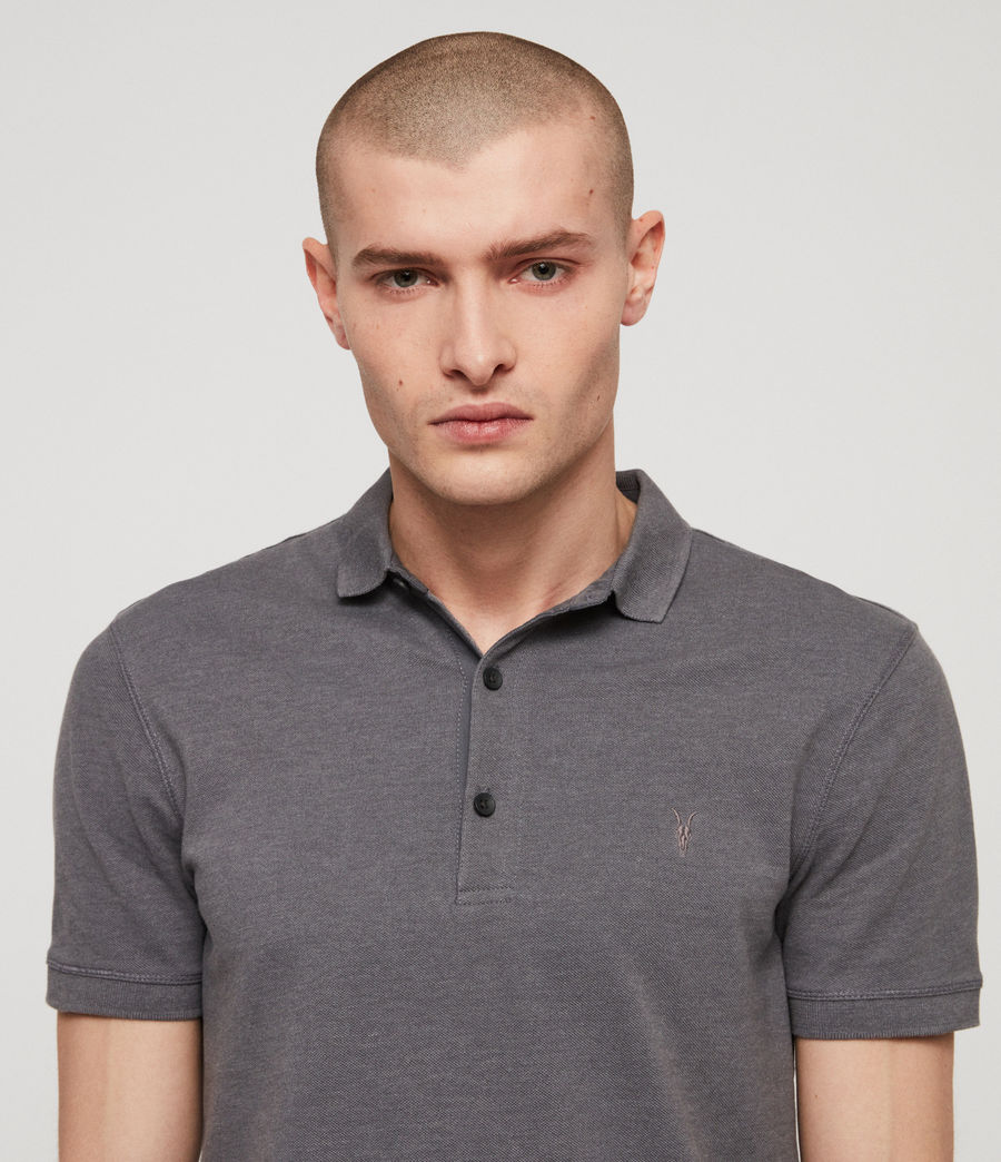 Men's Reform Polo Shirt (granite_blue_marl) - Image 2
