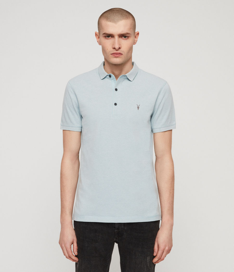 Men's Reform Polo Shirt (arbour_blue_marl) - Image 1