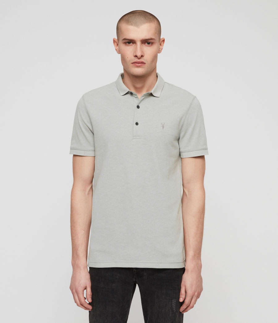 Men's Reform Polo Shirt (mint_green_marl) - Image 1