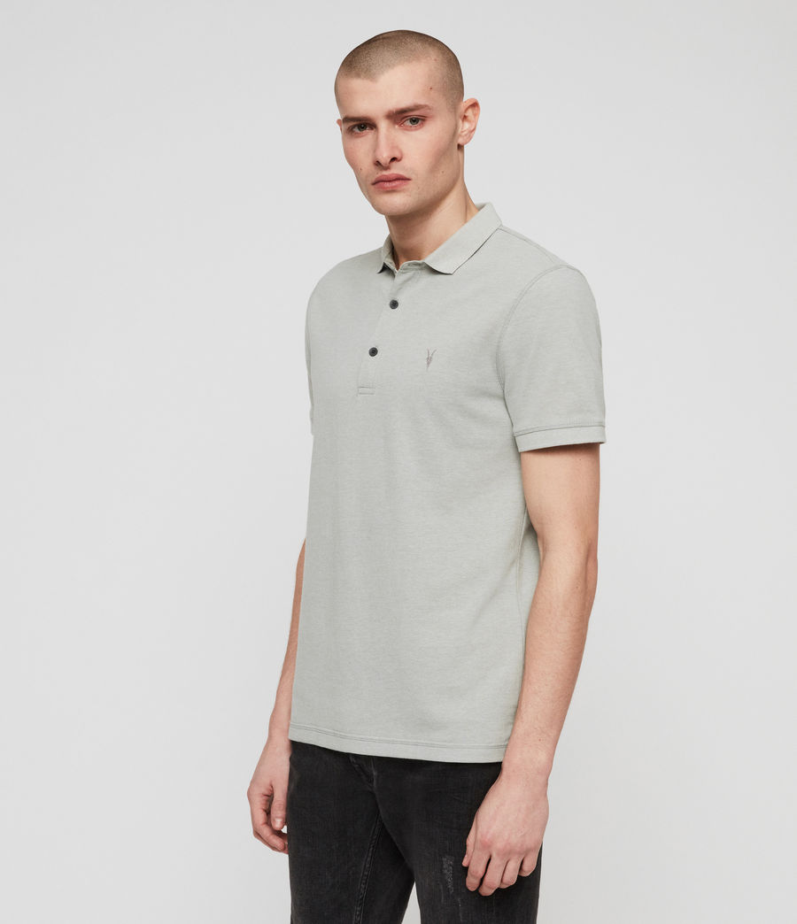 Men's Reform Polo Shirt (mint_green_marl) - Image 4