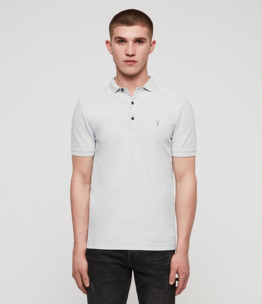 Men's Reform Polo Shirt (sol_blue_marl) - Image 1