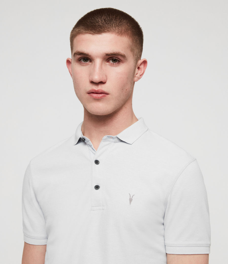 Men's Reform Short Sleeve Polo Shirt (sol_blue_marl) - Image 2