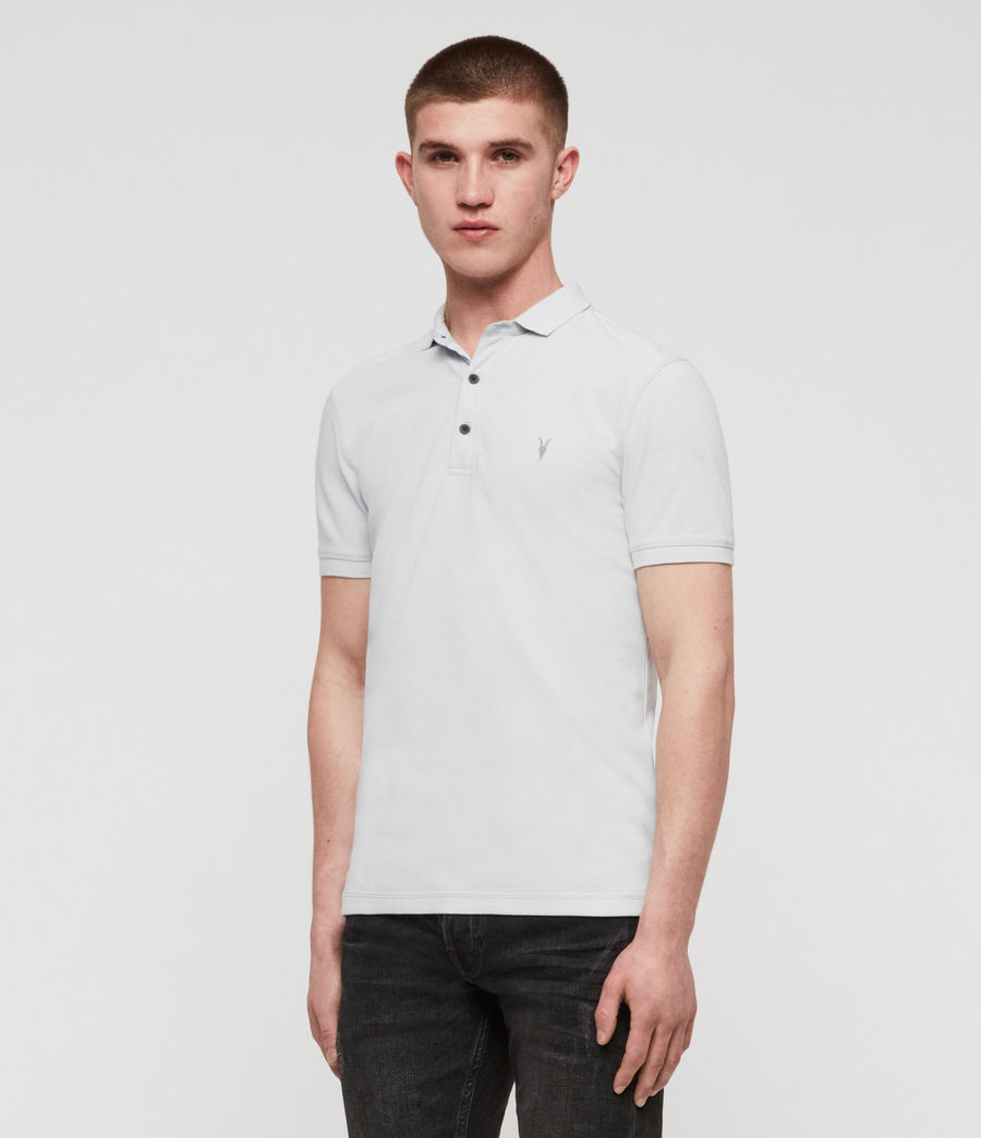 Men's Reform Short Sleeve Polo Shirt (sol_blue_marl) - Image 4
